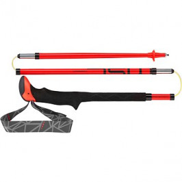 Leki Micro Stick Carbon red-black-white 115 cm